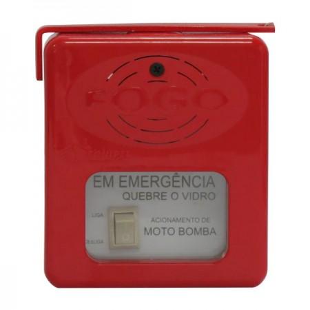 Caixa Emergência Acionamento de Bomba - Equipel