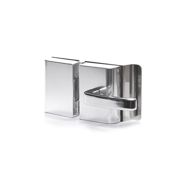 Fechadura Elétrica P/Porta de Vidro PVR2E Cromada - AGL