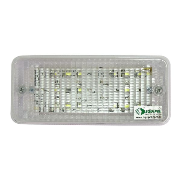 Luminária de Emergência Lumeea LED 22/24Vcc - Equipel