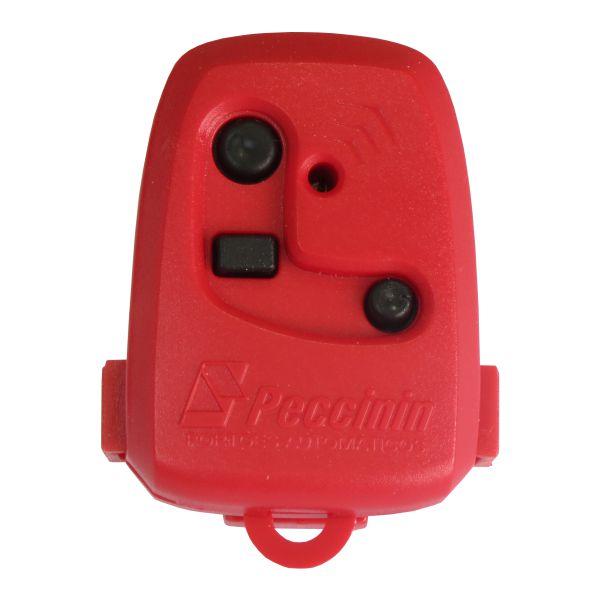 Controle Remoto - Peccinin 433,92 MHz - Vermelho