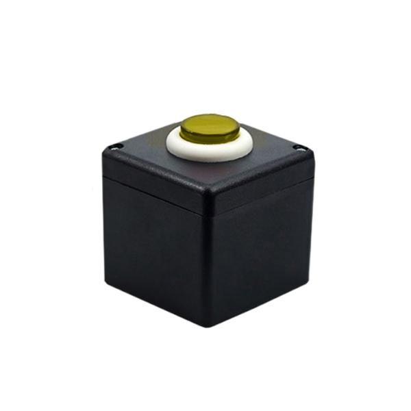 Botoeira NA/NF Preto com Amarelo - Stilus