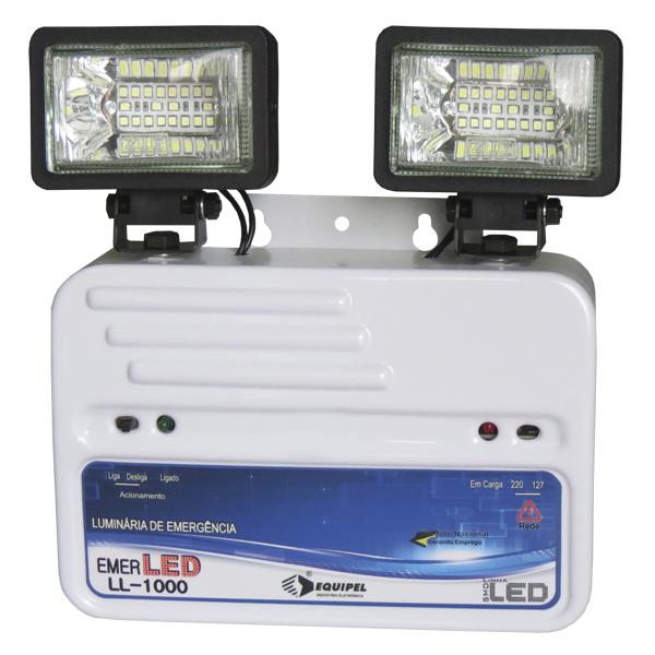 Luminária de Emergência Emerled - Equipel
